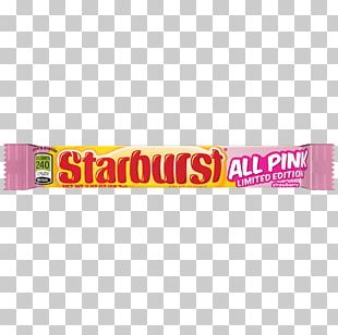 Starburst Candy Flavor Skittles Fruit Snacks PNG