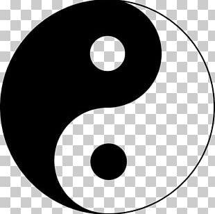 Yin And Yang Taijitu Symbol Dialectical Monism Taoism PNG