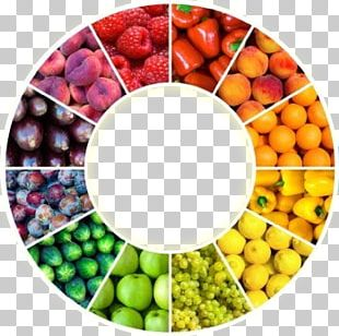 Color Wheel Food Coloring Fruit PNG
