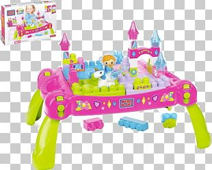 Table Mega Brands Mega Bloks First Builders Lil' Princess Shimmering Palace Tubtown Toy Block フィッシャープライス メガブロック CNM42 PNG