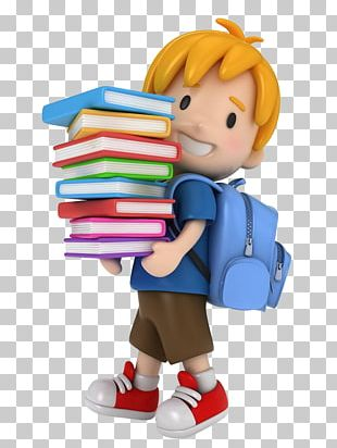3D Computer Graphics Child School Stock Photography PNG