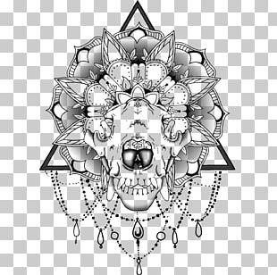 Mandala Skull Tattoo Wiki PNG