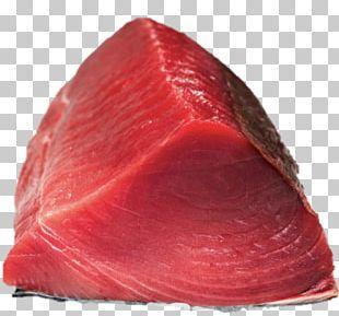 Bresaola Sashimi Yellowfin Tuna Fish Fillet PNG