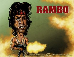 Sylvester Stallone Snake Plissken Rambo: The Force Of Freedom Cartoon PNG