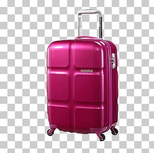 American Tourister Hand Luggage Samsonite Suitcase Baggage PNG