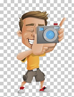 Photography Photographer Character Illustration PNG