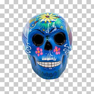 Skull Day Of The Dead Mexican Cuisine Ceramic Bone PNG