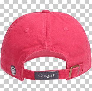 Baseball Cap Life Is Good Hat Woman PNG
