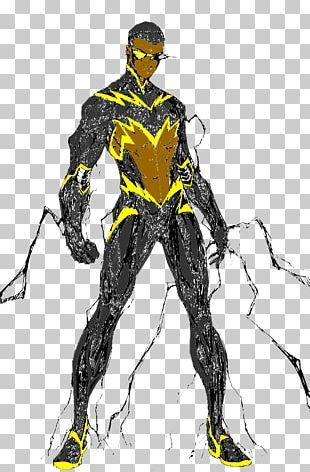 Black Lightning Superhero Batman DC Comics PNG