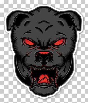 Dog Sticker Demon Graphic Arts PNG