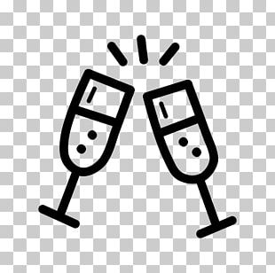 Champagne Glass Wine Distilled Beverage Computer Icons PNG