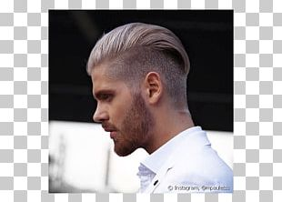 Hairstyle Undercut Masculinity Blond PNG
