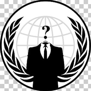 Anonymous Logo Security Hacker Emblem PNG