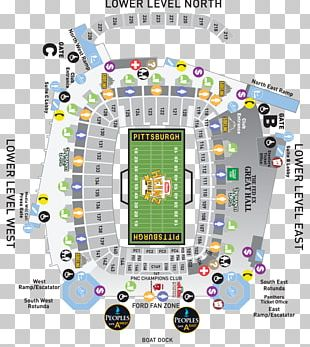Heinz Field Pittsburgh Steelers Vs. Carolina Panthers Seating Assignment Seating Plan PNG