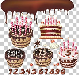 Birthday Cake Chocolate Cake Wedding Cake Layer Cake Frosting & Icing PNG