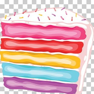 Frosting & Icing Layer Cake Rainbow Cookie Chocolate PNG