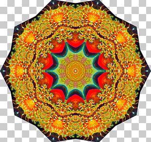 Textile Symmetry Kaleidoscope Quilt Pattern PNG