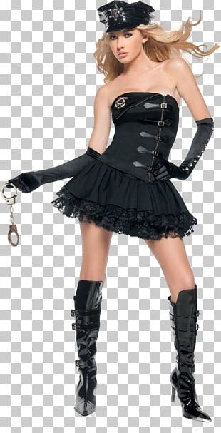 Police Officer Halloween Costume Skirt PNG
