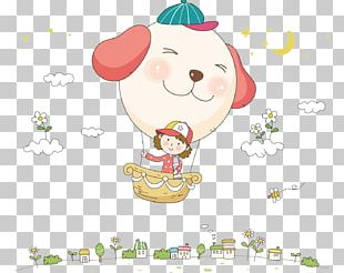 Cartoon Balloon Illustration PNG