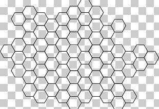 Hexagon Bee Honeycomb PNG