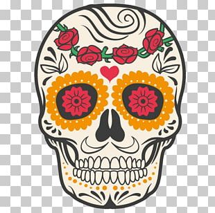 Calavera Mexican Cuisine Mexico Day Of The Dead Human Skull Symbolism PNG