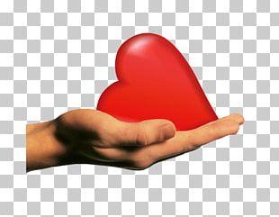 Heart Hand Desktop Human Body Finger PNG
