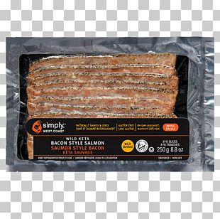 Bacon Smoked Salmon Meat Food PNG