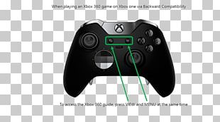 Xbox One Controller Game Controllers Microsoft Xbox One Elite Controller Microsoft Studios Xbox One X PNG