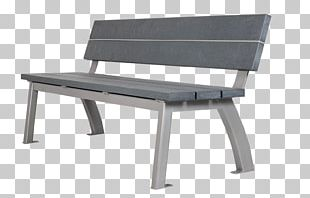 Table Chair Bench Park Garden PNG