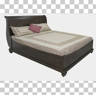Bed Frame Mattress Box-spring Bed Sheets Comfort PNG