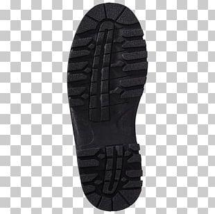 Shoe Walking Black M PNG