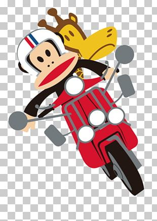 Monkey Graphic Design PNG