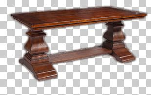 Coffee Table Rectangle Wood Stain PNG