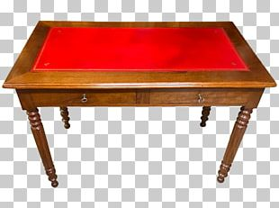 Writing Desk Louis Philippe Style Drawer Table PNG