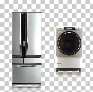 Clothes Dryer Washing Machine Home Appliance Refrigerator Wheel PNG