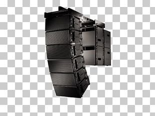 Line Array Loudspeaker QSC Audio Products Powered Speakers PNG