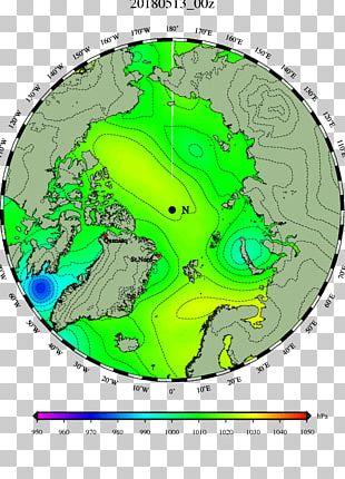 North Pole Danish Meteorological Institute Jet Stream Northern Hemisphere Beaufort Sea PNG