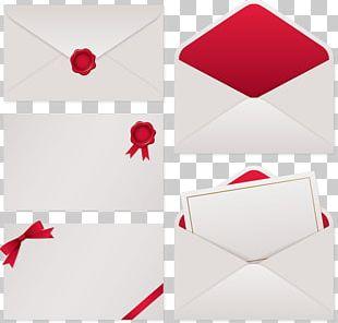 Paper Red Envelope Material PNG