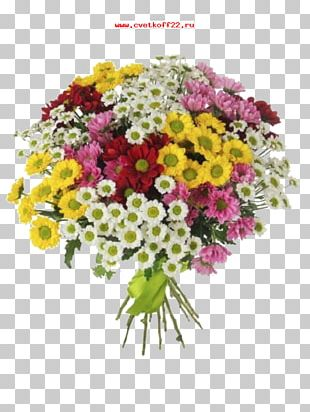 Flower Bouquet Chrysanthemum Garden Roses Gift PNG