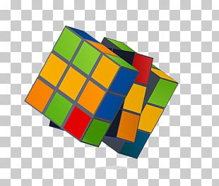 Rotating Cube Rubiks Cube PNG