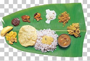 Cuisine Of Kerala Sadhya Appam Indian Cuisine PNG