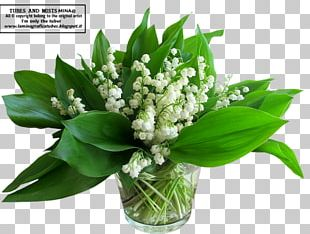 Lily Of The Valley Flower Bouquet Lilium Cut Flowers PNG