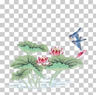 China Bird-and-flower Painting Chinese Painting Gongbi Ink Wash Painting PNG