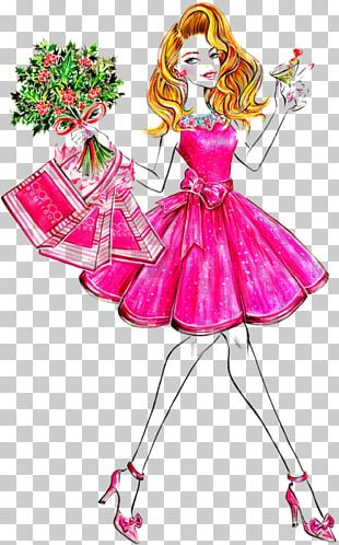 Fashion Illustration Illustrator Pattern PNG