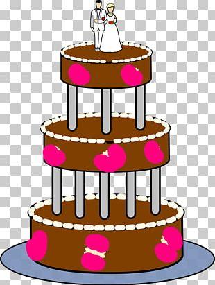 Wedding Cake Birthday Cake PNG