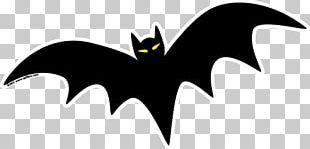 Bat Halloween Drawing PNG