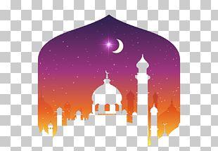 Eid Al-Fitr Kartu Lebaran Illustration PNG