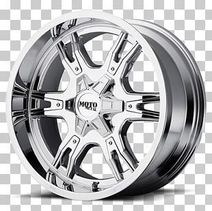 Wheel Chrome Plating Rim Metal Tire PNG