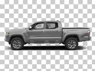 2018 Toyota Tacoma Limited Double Cab Pickup Truck Four-wheel Drive Vehicle PNG