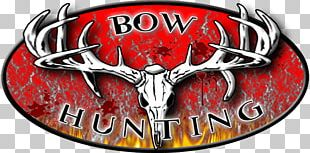 Logo Bowhunting Bow And Arrow Archery PNG